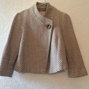 Michael Kors Tweed Blazer Coat